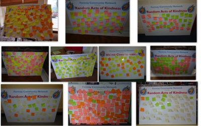 Completed Random Acts of Kindness Boards – 2014