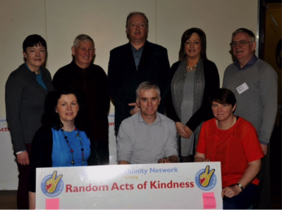 Fermoy Community Network (Committee Members) at launch of Random Acts of Kindness Schools Event