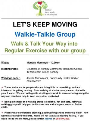Walkie Talkie Walking Group