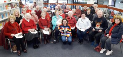 Singing for the Brain Fermoy Group - Library Event with pupils from Presentation NS Fermoy